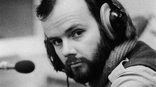 Radio 1 DJ and pioneering champion of alternative music John Peel (1939 - 2004), March 1972. (Photo by Len Trievnor/Express/Hulton Archive/Getty Images)